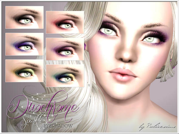Duochrome Sparkle Eyeshadow by Pralinesims