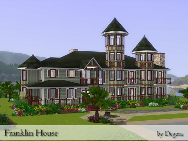 Franklin House on the Pointe by Degera
