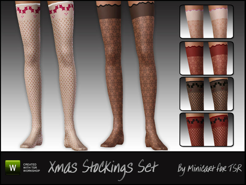Christmas Stockings Set by minicart