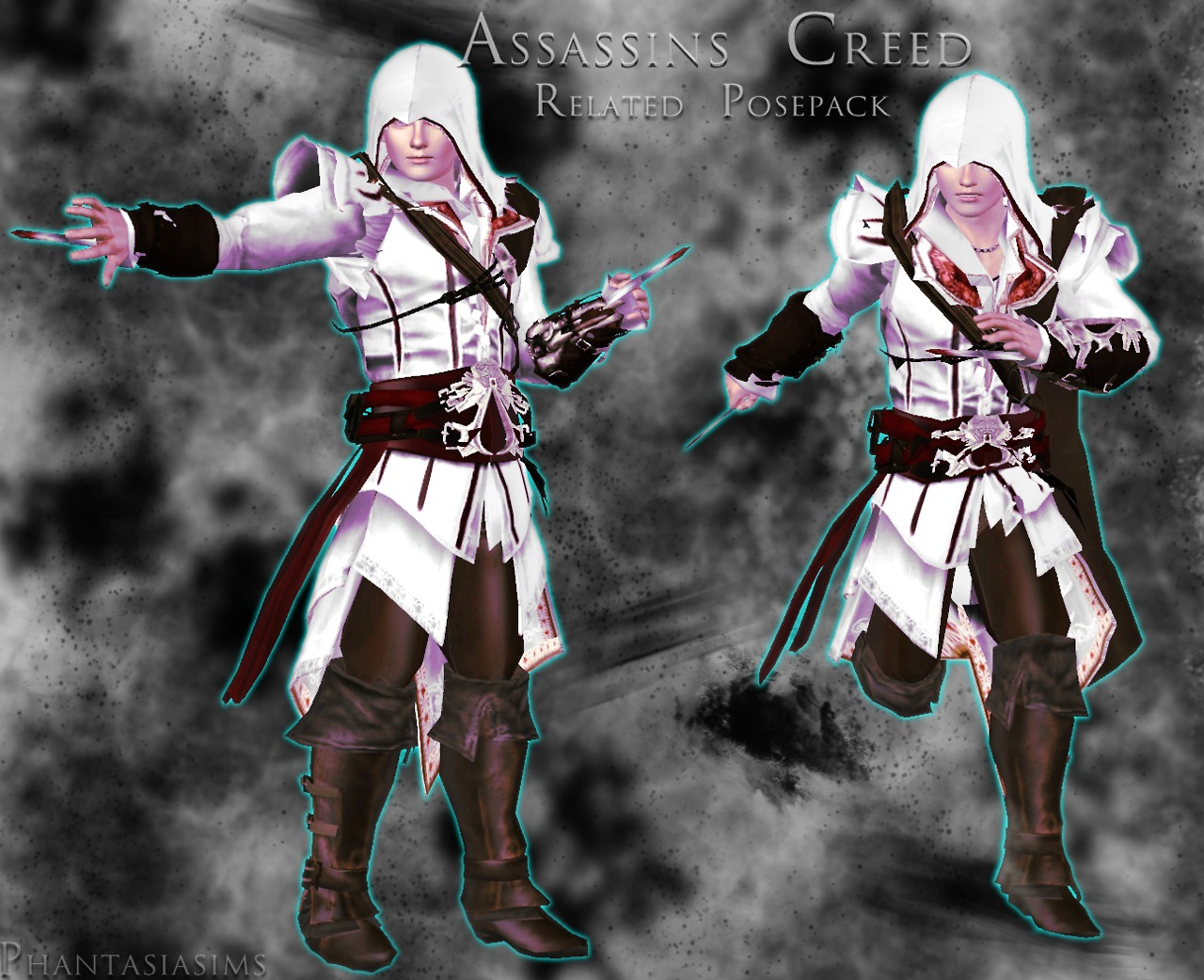 Assassins Creed Related Poses - Posepack by Jassi