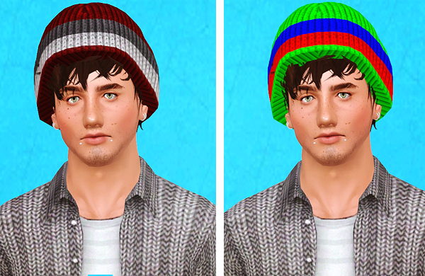 4 Hats for Your Guys & Girls by Simsxlove