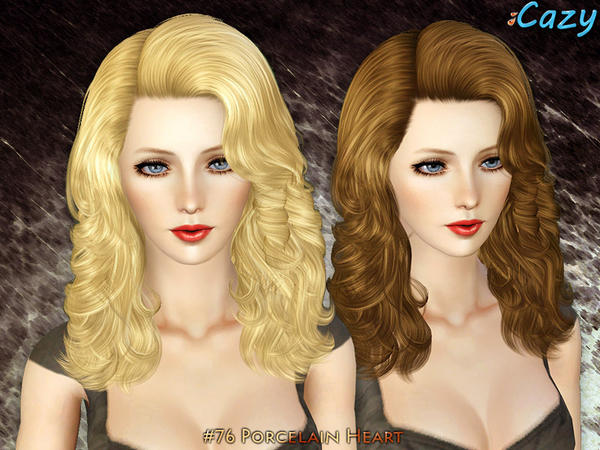 Porcelain Heart - Hairstyle Set by Cazy