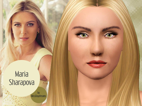 Maria Sharapova by MissDaydreams