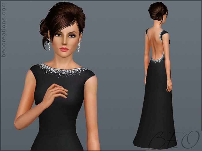 Dress with Crystals by BEO