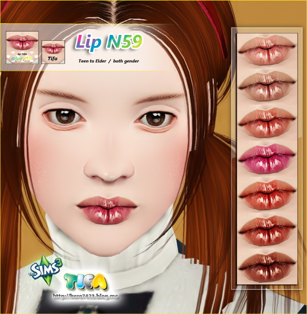 Lip N59 by Tifa