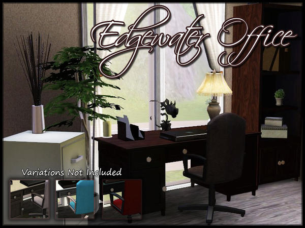 Edgewater Office by sim_man123