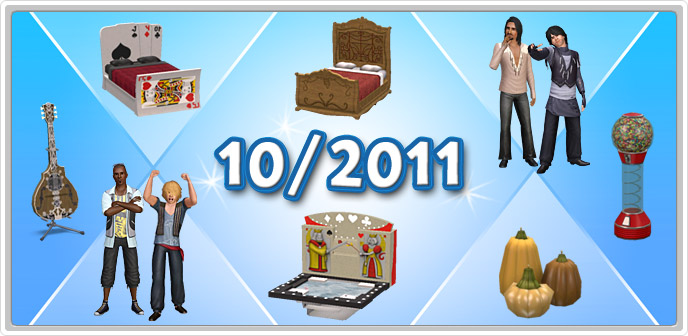 The Sims 3 Store October 2011 compilation