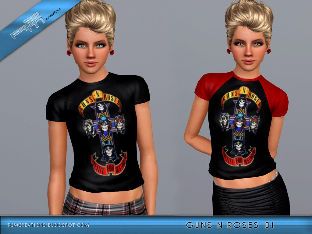 Guns N Roses Shirts for Females by ReMaron