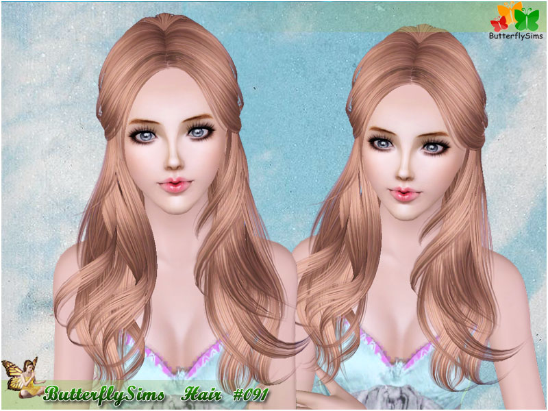 Hairstyle 091 by Butterflysims