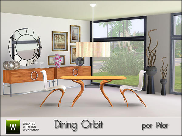 Dining Orbit By Pilar