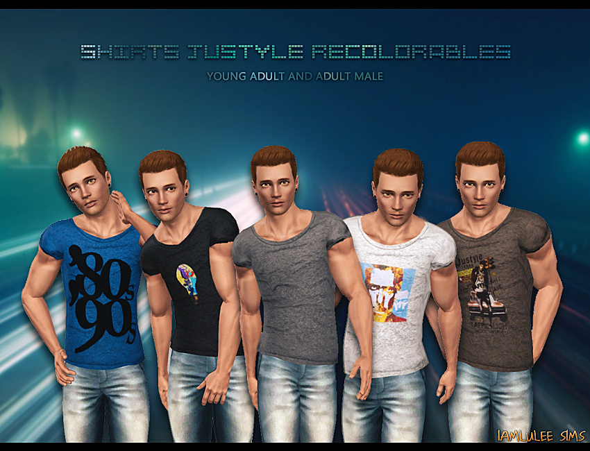 Shirts Justyle Recolorables by IamLulee