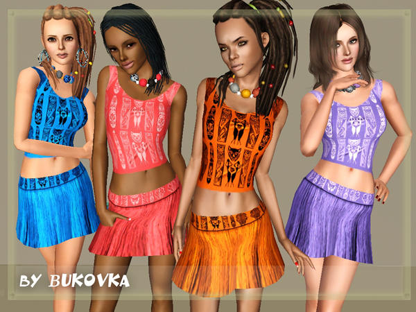 Ethno (skirt + shirt) by bukovka