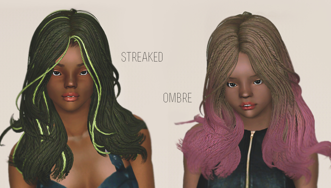 Zerodark Newsea Bella Hair by Simmerstore