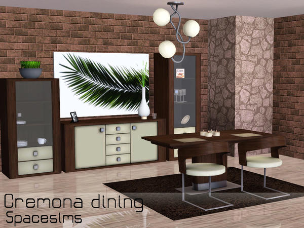 Cremona dining room by spacesims
