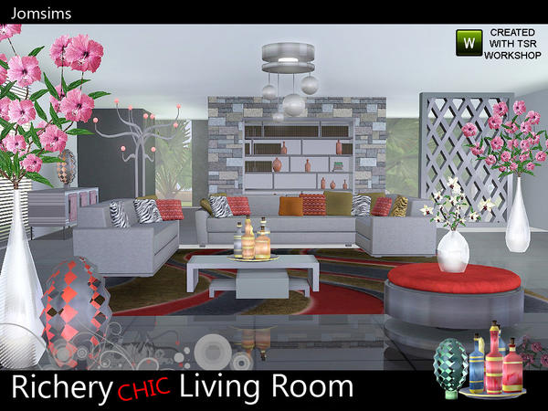 Richery chic livingroom Collection by jomsims