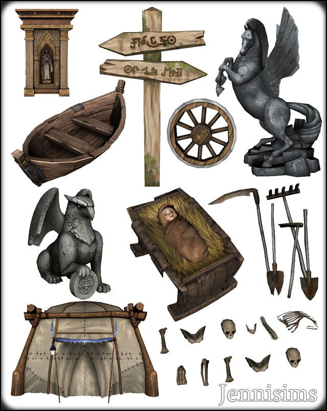 Sims Medieval Conversions by JenniSims