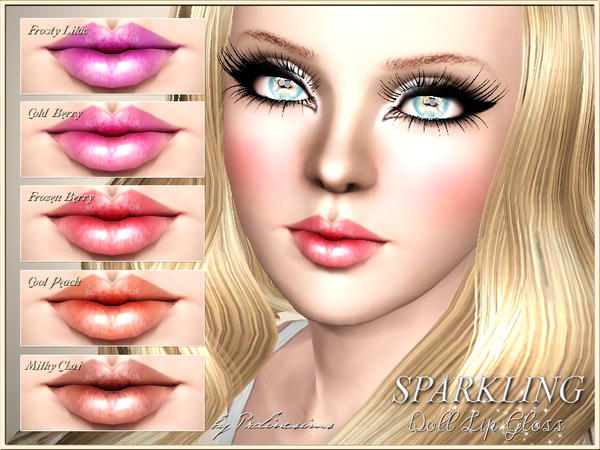 Sparkling Doll Lip Gloss by Pralinesims