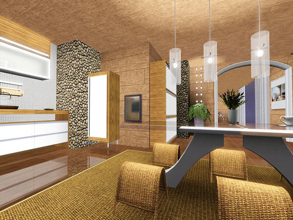 Beverly Hills Apartment by Pralinesims