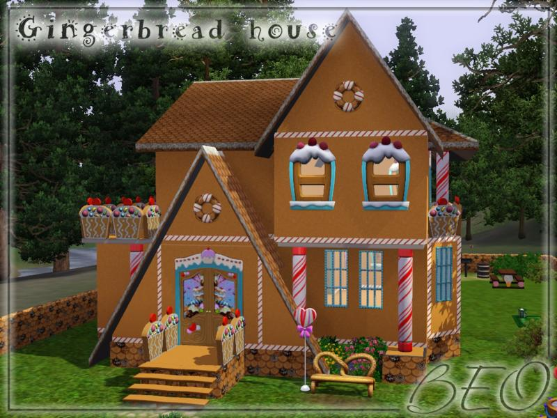 Gingerbread house by beo2010
