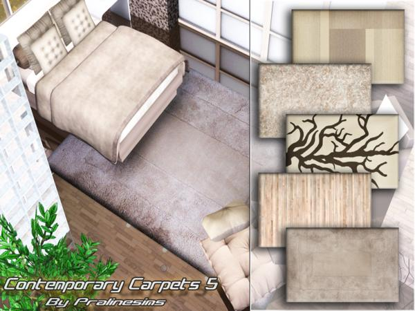 Contemporary Carpets 5 by Pralinesims