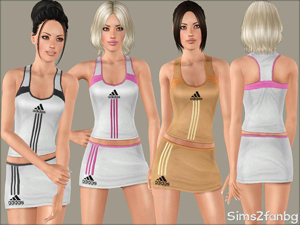 341 - Sport set by sims2fanbg