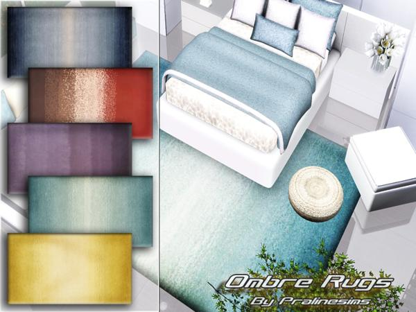 Ombre Rugs by Pralinesims