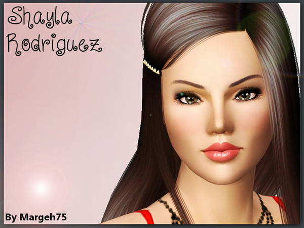 Shayla Rodriguez by Margeh-75