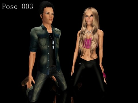 Новые позы к Pose Player от Skylark Sims