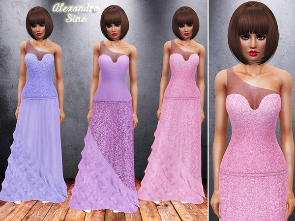 Modern Day Princess Gown by Alexandra_Sine