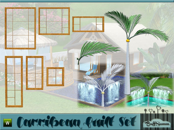 Carribean Built Set Pt. 1 by BuffSumm