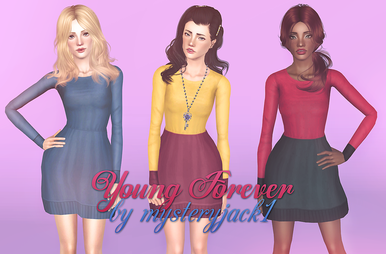 Young Forever Dress by Mysteryjack1