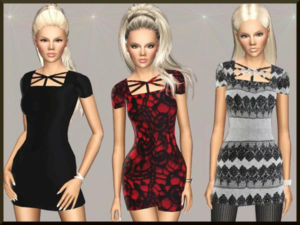 Modern Gal Dress by Margeh-75