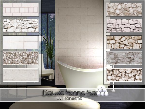 Deluxe Stone Set by Pralinesims