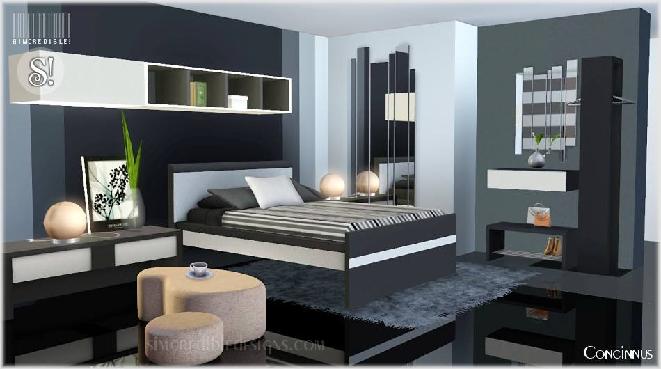 Concinnus Bedroom Set by Simcredible