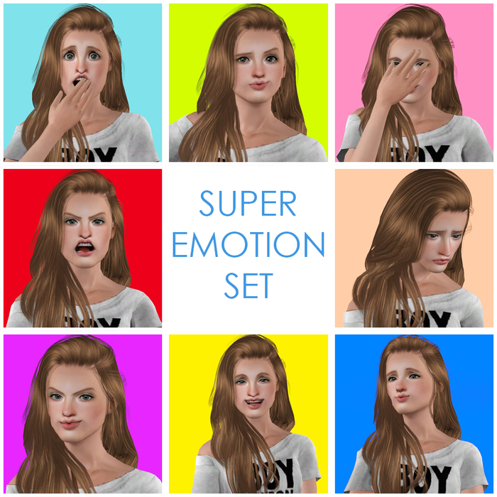 Super Emotion Set by AiR