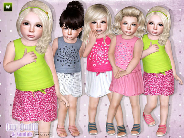 Luv Outfit & Sandals by lillka