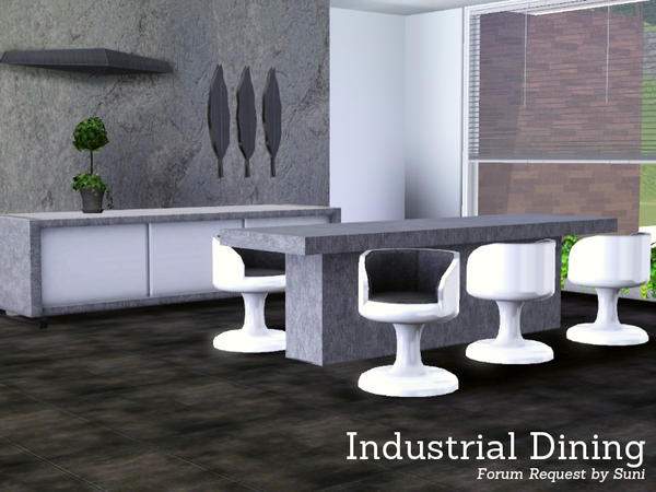 Industrial Dining by Angela