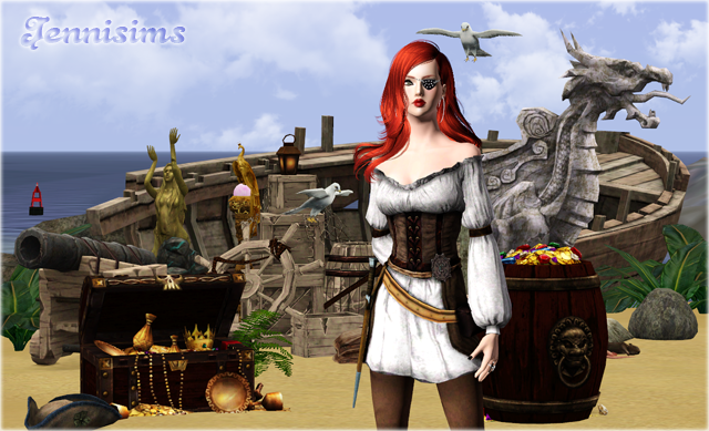 Sims Medieval Pirates & Nobles Conversions by Jenni