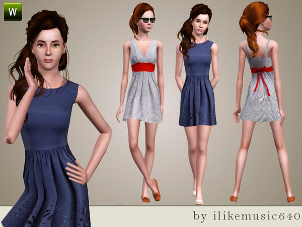 Nautical Inspired Dresses  от ILikeMusic640