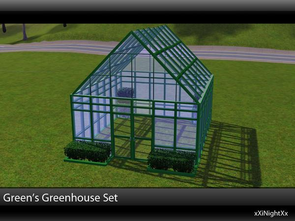 Green's Greenhouse Build Set by xiNightXx
