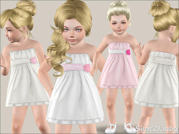 343 - Formal dress for toddler by sims2fanbg
