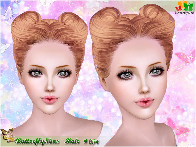 Hairstyle 094 by ButterflySims