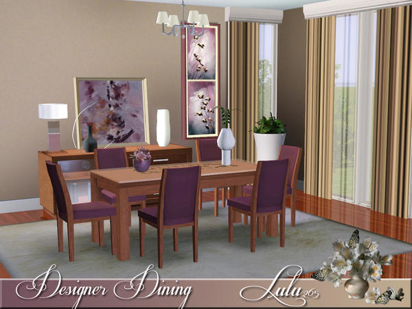 Designer Dining by Lulu265