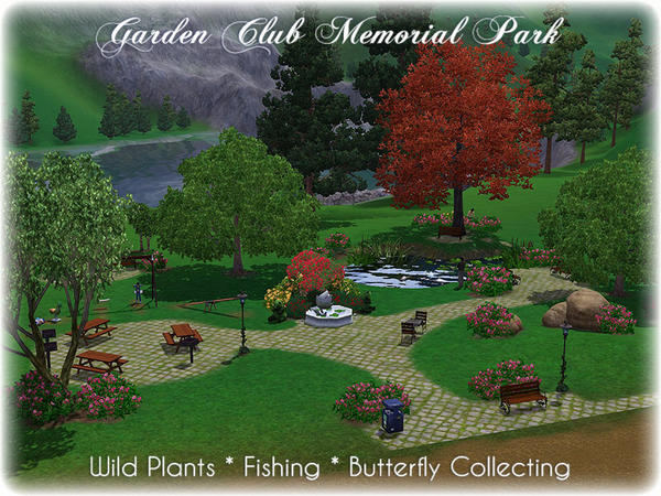 Garden Club Memorial Park by Illiana