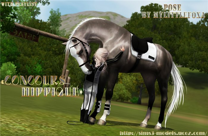 Concours Hippique Pose Pack by MyLittlefoxa