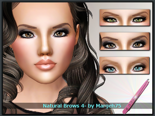 Natural Brows 4 by Margeh75