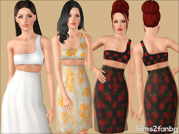 344 - Summer set by sims2fanbg