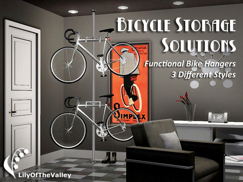 Bicycle Storage Solutions by LilyOfTheValley