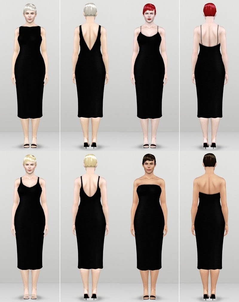 Basic Camisole Dresses by Rusty Nail