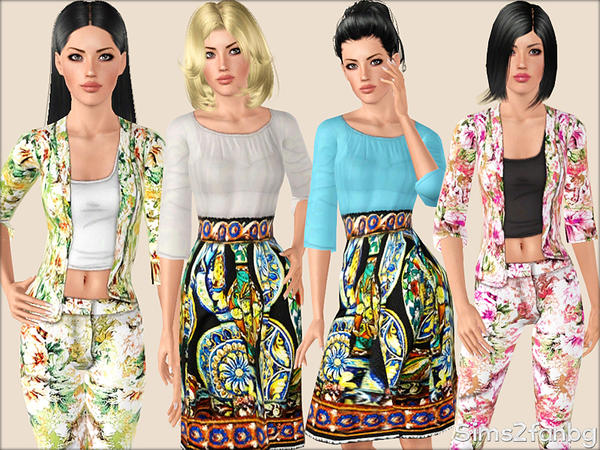 345 - Designer set by sims2fanbg